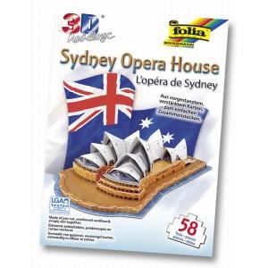 Sidnėjaus Operos Rūmai . 3D dėlione