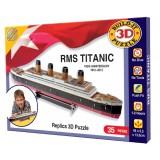 Titanikas. 3D dėlionė