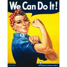 "Rosie ""We Can Do It!"". J. Howard Miller"