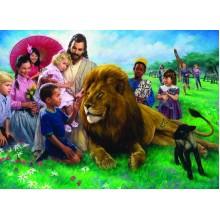 Liūtas ir ėriukas. Natanas Grinas
